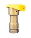 Бронзовый клапан быстрого доступа 3RC c пластиковой крышкой