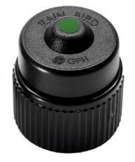 Самокомпенсирующийся баблер, 38 л/ч, зеленый PCT-10